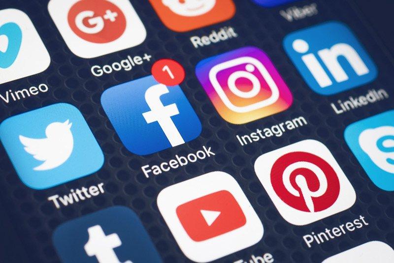 Social media history for visas