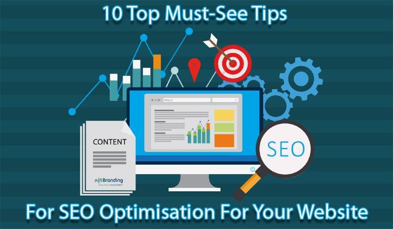 tips for SEO optimisation