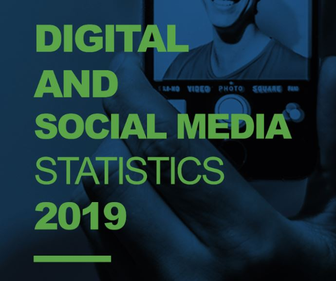 digital marketing and social media stats for 2019